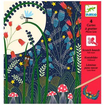 Набор для творчества DjecoНабор для творчества Djeco «Полнолуние», возраст от 6 лет<br><br>Возраст: от 6 лет