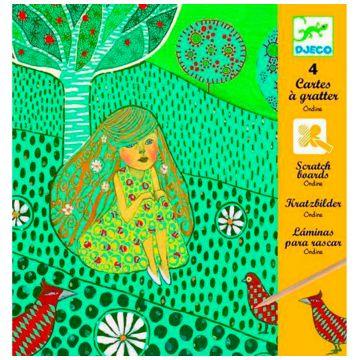 Набор для творчества DjecoНабор для творчества Djeco «Русалки», возраст от 6 лет<br><br>Возраст: от 6 лет