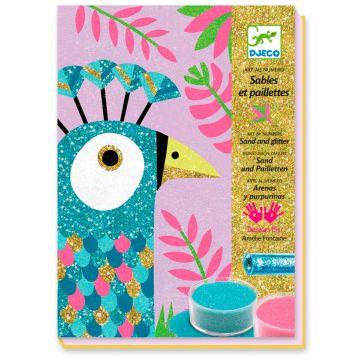 Набор для творчества DjecoНабор для творчества Djeco Прекрасные птицы, возраст от 6 лет<br><br>Возраст: от 6 лет