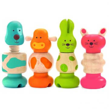 Набор игрушек DjecoНабор игрушек Djeco Животные, возраст от 0 лет<br><br>Возраст: от 0 лет