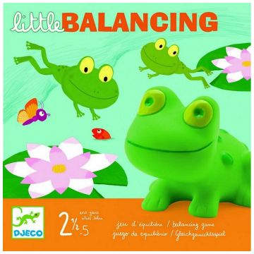 Настольная игра детская DjecoНастольная игра детская Djeco «Лягушачий балансир», возраст от 2 лет<br><br>Возраст: от 2 лет
