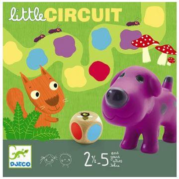 Настольная игра детская DjecoНастольная игра детская Djeco «Маленькая дорожка», возраст от 2 лет<br><br>Возраст: от 2 лет