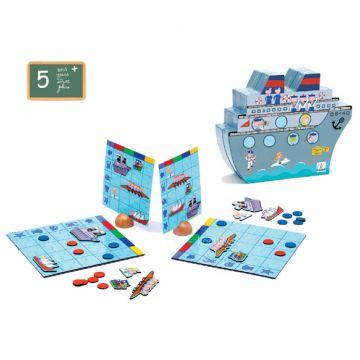 Настольная игра детская DjecoНастольная игра детская Djeco Морской бой малый, возраст от 5 лет<br><br>Возраст: от 5 лет