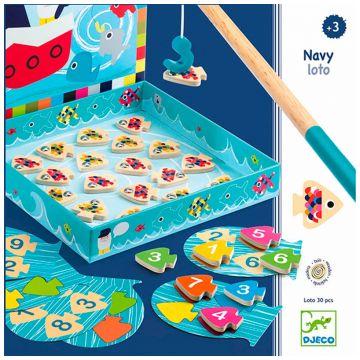 Настольная игра детская DjecoНастольная игра детская Djeco Морское лото, возраст от 3 лет<br><br>Возраст: от 3 лет