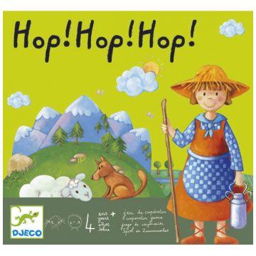 Настольная игра детская DjecoНастольная игра детская Djeco Хоп хоп хоп!, возраст от 4 лет<br><br>Возраст: от 4 лет