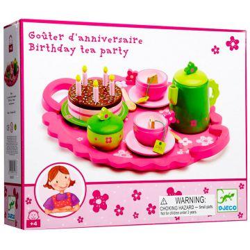 Столовый набор DjecoСтоловый набор Djeco День рождения, возраст от 4 лет<br><br>Возраст: от 4 лет