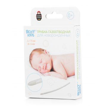 Трубка газоотводная для новорожденных Roxy-KidsТрубка газоотводная для новорожденных Roxy-Kids 1 шт многоразовая RTV-15-6S<br>