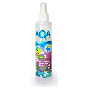 Cпрей для легкого расчесывания волос Aqa BabyCпрей для легкого расчесывания волос Aqa Baby 200 мл<br>