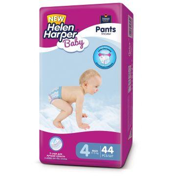 Трусики Helen HarperТрусики Helen Harper Baby maxi (8-13 кг) 44 шт, в упаковке 44 шт., размер L<br><br>Штук в упаковке: 44<br>Размер: L