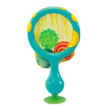 Игрушка для ванны MunchkinИгрушка для ванны Munchkin 2 в 1 Кольцо с мячиками-брызгалками<br>