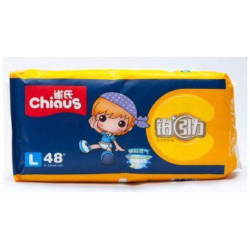 Трусики ChiausТрусики Chiaus размер L (9-14 кг) 48 шт, в упаковке 48 шт., размер L<br><br>Штук в упаковке: 48<br>Размер: L