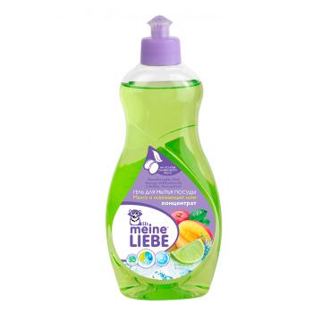 Гель для мытья посуды Meine LiebeГель для мытья посуды Meine Liebe Манго и освежающий лайм, концентрат 500 мл<br>