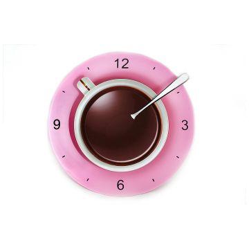 Часы LeFuturЧасы LeFutur Кофейная чашка розовая  LF19393<br>