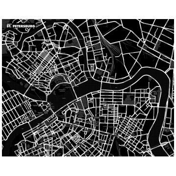 Карта LeFuturКарта САНКТ-ПЕТЕРБУРГА LeFutur Palomar черный LF-E19724<br>