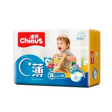 Подгузники  Pro-Core размер ChiausПодгузники Chiaus Pro-Core размер S (3-6 кг) 66 шт, в упаковке 66 шт., размер S<br><br>Штук в упаковке: 66<br>Размер: S