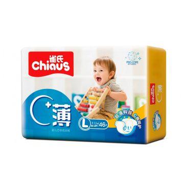 Подгузники  Pro-Core размер ChiausПодгузники Chiaus Pro-core размер L (9-13 кг) 46 шт, в упаковке 46 шт., размер L<br><br>Штук в упаковке: 46<br>Размер: L