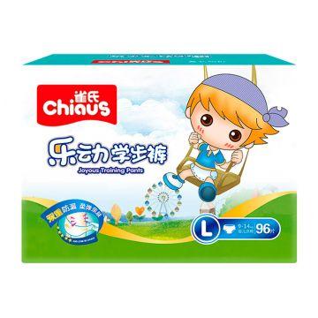 Трусики ChiausТрусики Chiaus Непоседа размер L (9-14 кг) 96 шт (mega box), в упаковке 96 шт., размер L<br><br>Штук в упаковке: 96<br>Размер: L