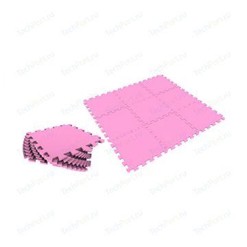 Мягкий пол Тойс лэнд универсальный 33*33 розовыйМягкий пол Тойс лэнд универсальный 33*33 розовый<br>