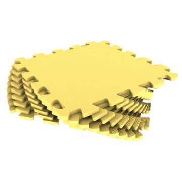 Мягкий пол Тойс лэнд универсальный 33*33 желтыйМягкий пол Тойс лэнд универсальный 33*33 желтый<br>