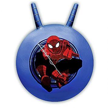 Мяч с рожками Disney Человек паук 45см синий