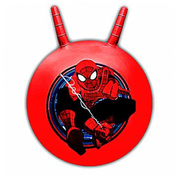 Мяч с рожками Disney Человек Паук 55см красный