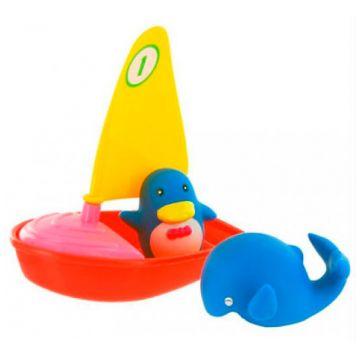 Игрушка для ванной Курносики Удивительная регатаИгрушка для ванной Курносики Удивительная регата<br>