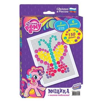 Мозаика Hasbro My Little Pony  and quot;Моя маленькая пони and quot; 150 деталейМозаика Hasbro My Little Pony Моя маленькая пони 150 деталей<br>