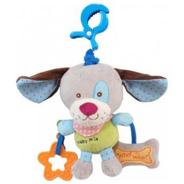Игрушка Baby Mix мягкая с подвеской Собачка 1125Игрушка Baby Mix мягкая с подвеской Собачка 1125<br>
