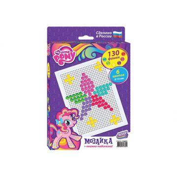 Мозаика Hasbro My Little Pony  and quot;Моя маленькая пони and quot; 130  деталейМозаика Hasbro My Little Pony Моя маленькая пони 130  деталей<br>