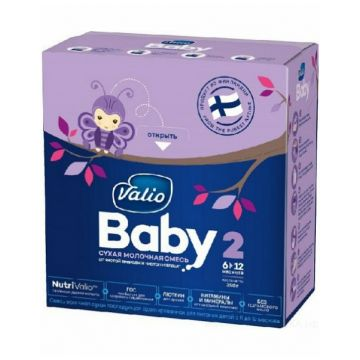 Молочная смесь Valio Baby 2 c 6 до 12 мес. 350 гМолочная смесь Valio Baby 2 c 6 до 12 мес. 350 г<br>