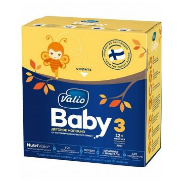 Молочная смесь Valio Baby 3 c 12 мес. 350 гМолочная смесь Valio Baby 3 c 12 мес. 350 г<br>