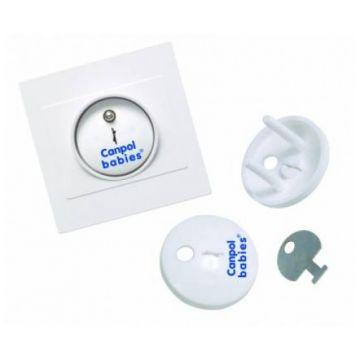Заглушки для электрической розетки Canpol BabiesЗаглушки для электрической розетки Canpol Babies (4 шт)<br>