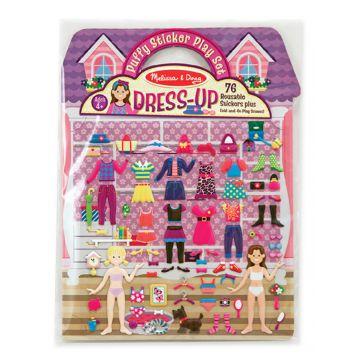 Набор для творчества Melissa and DougНабор для творчества Melissa and Doug  Магазин одежды со стикерами и фоном, возраст от 4 лет<br><br>Возраст: от 4 лет