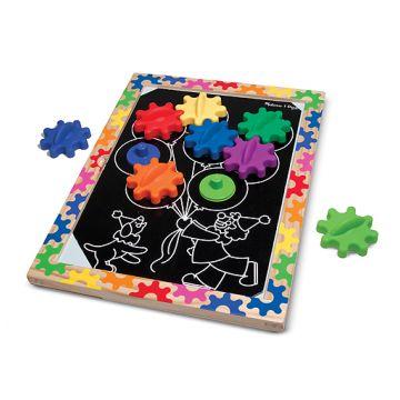 Игра первые навыки Melissa and DougИгра первые навыки Melissa and Doug Разноцветные колесики (на магнитах), возраст от 2 лет<br><br>Возраст: от 2 лет