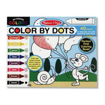 Раскраска Melissa and DougРаскраска Melissa and Doug Раскрась по цветам, возраст от 3 лет<br><br>Возраст: от 3 лет