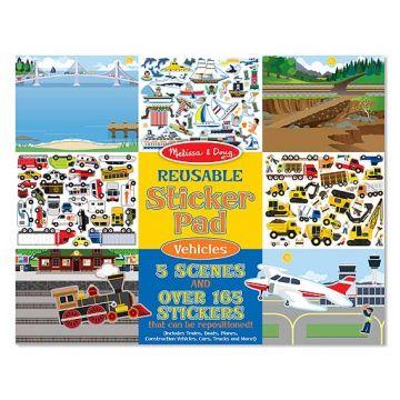 Набор для творчества Melissa and DougНабор для творчества  Melissa and Doug Транспорт со стикерами и фоном, возраст от 3 лет<br><br>Возраст: от 3 лет
