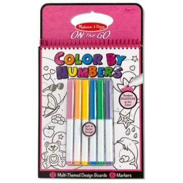 Раскраска Melissa and DougРаскраска Melissa and Doug по цифрам розовая, возраст от 5 лет<br><br>Возраст: от 5 лет