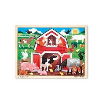Пазл Melissa and DougПазл Melissa and Doug Животные на ферме, возраст от 3 лет<br><br>Возраст: от 3 лет