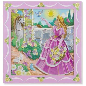Мозаика Melissa and DougМозаика Melissa and Doug по номерам принцесса в саду, возраст от 5 лет<br><br>Возраст: от 5 лет