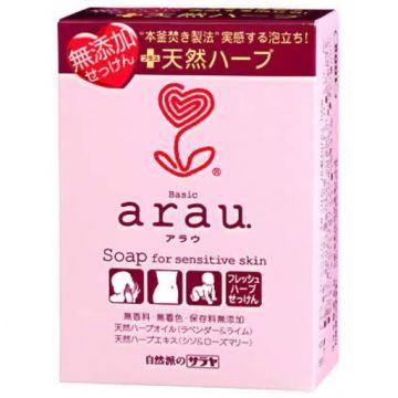Мыло на основе трав для чувствительной кожи SarayaМыло на основе трав для чувствительной кожи Saraya Arau брикет 100 г<br>