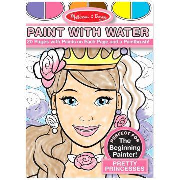 Раскраска водная Melissa and DougРаскраска водная  Melissa and Doug Принцессы, возраст от 3 лет<br><br>Возраст: от 3 лет