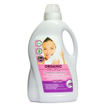 Кондиционер для белья Organic PeopleЭко кондиционер для белья Organic People Sweet dream 1,5 л, объем, 1500л.<br><br>Объем, л.: 1500