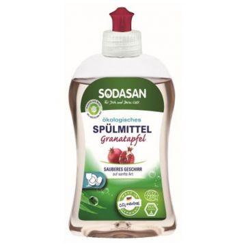 Средство для мытья посуды SodasanСредство для посуды Sodasan с гранатом 500 мл<br>