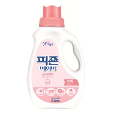 Кондиционер для детского белья Pigeon (Южная Корея) c ароматом розы, 1350 мл