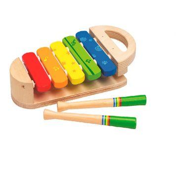 Игрушка деревянная Hape развивающая ксилофон Радуга Е0302Игрушка деревянная Hape развивающая ксилофон Радуга Е0302, возраст от 1 года<br><br>Возраст: от 1 года