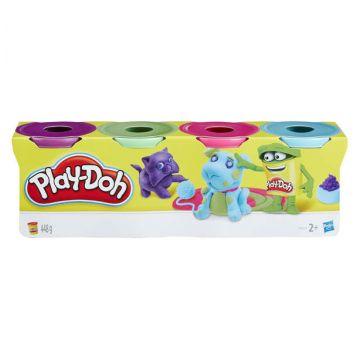 Play-doh, Набор пластилина из 4х банок B5517Play-doh, Набор пластилина из 4х банок B5517<br>
