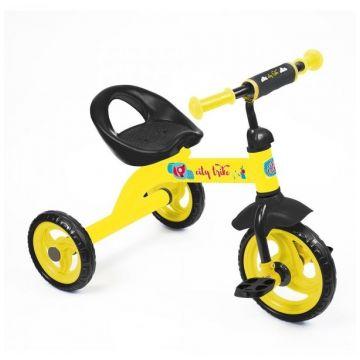 Nika Велосипед City trike СТ-13 (жёлтый)Nika Велосипед City trike СТ-13 (жёлтый)<br>