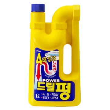 Средство для чистки и профилактики засоров Pigeon (Южная Корея)Средство для чистки и профилактики засоров Pigeon Drill Pung (гель) 1000 мл<br>