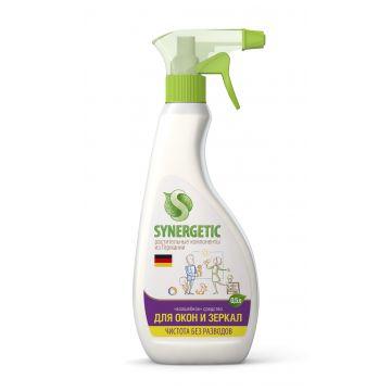 Спрей чистящий SynergeticСредство для мытья окон, зеркал, мебели и бытовой техники Synergetic, 500 мл, объем, 0.5л.<br><br>Объем, л.: 0.5