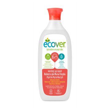 Жидкость для мытья посуды Ecover EcoverЖидкость для мытья посуды Ecover с грейпфрутом и зеленым чаем экологическая 500мл<br>
